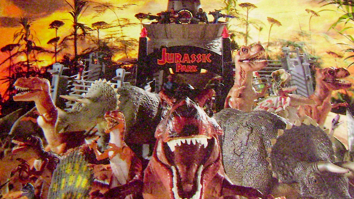Jurassic Park Toy Advert From The Archives