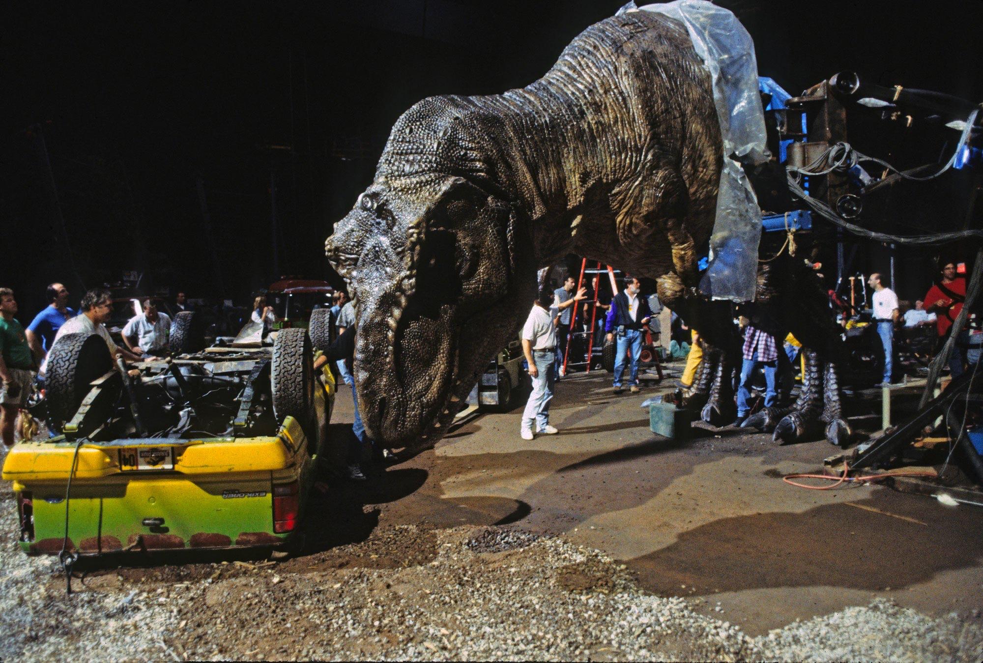Jurassic Park BTS - Pic 3.