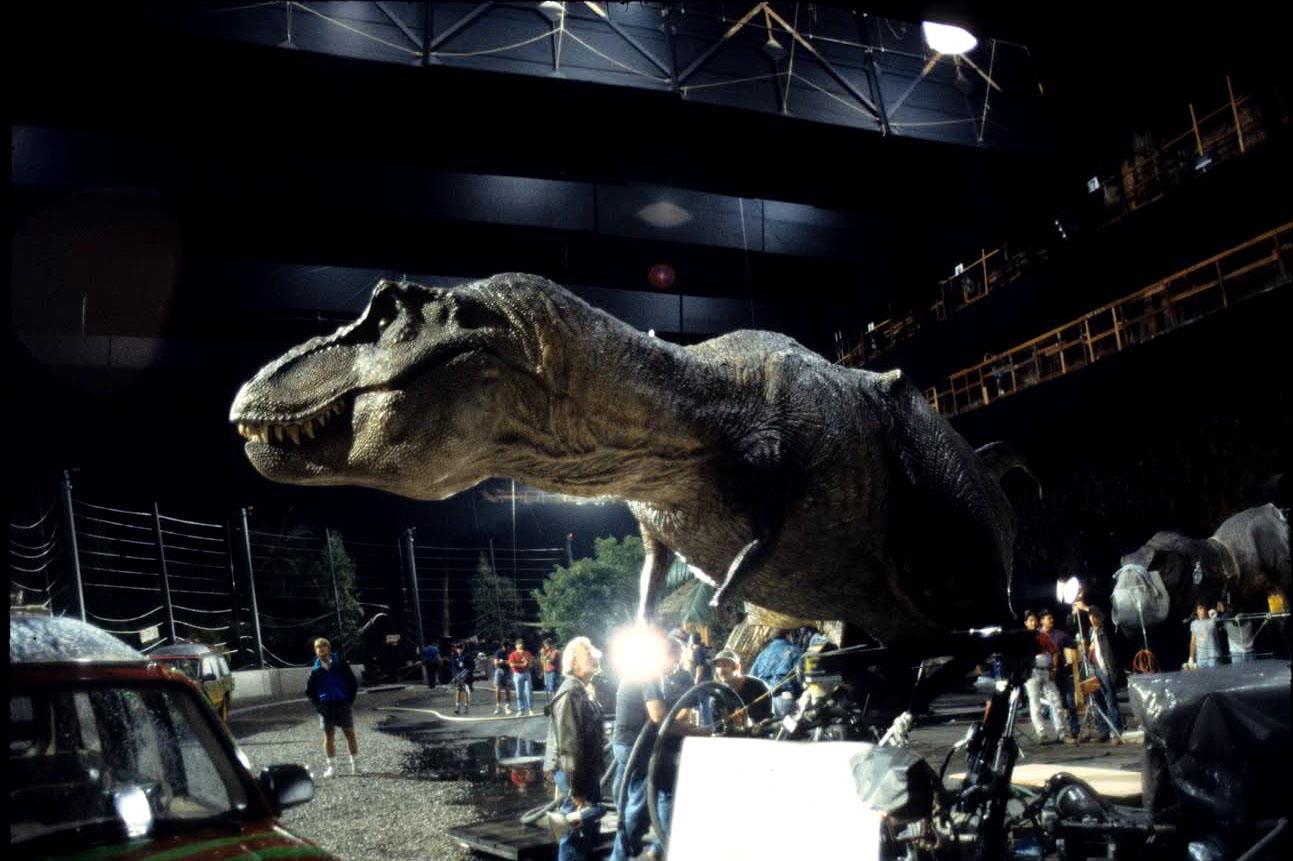 Jurassic Park BTS - Pic 2.