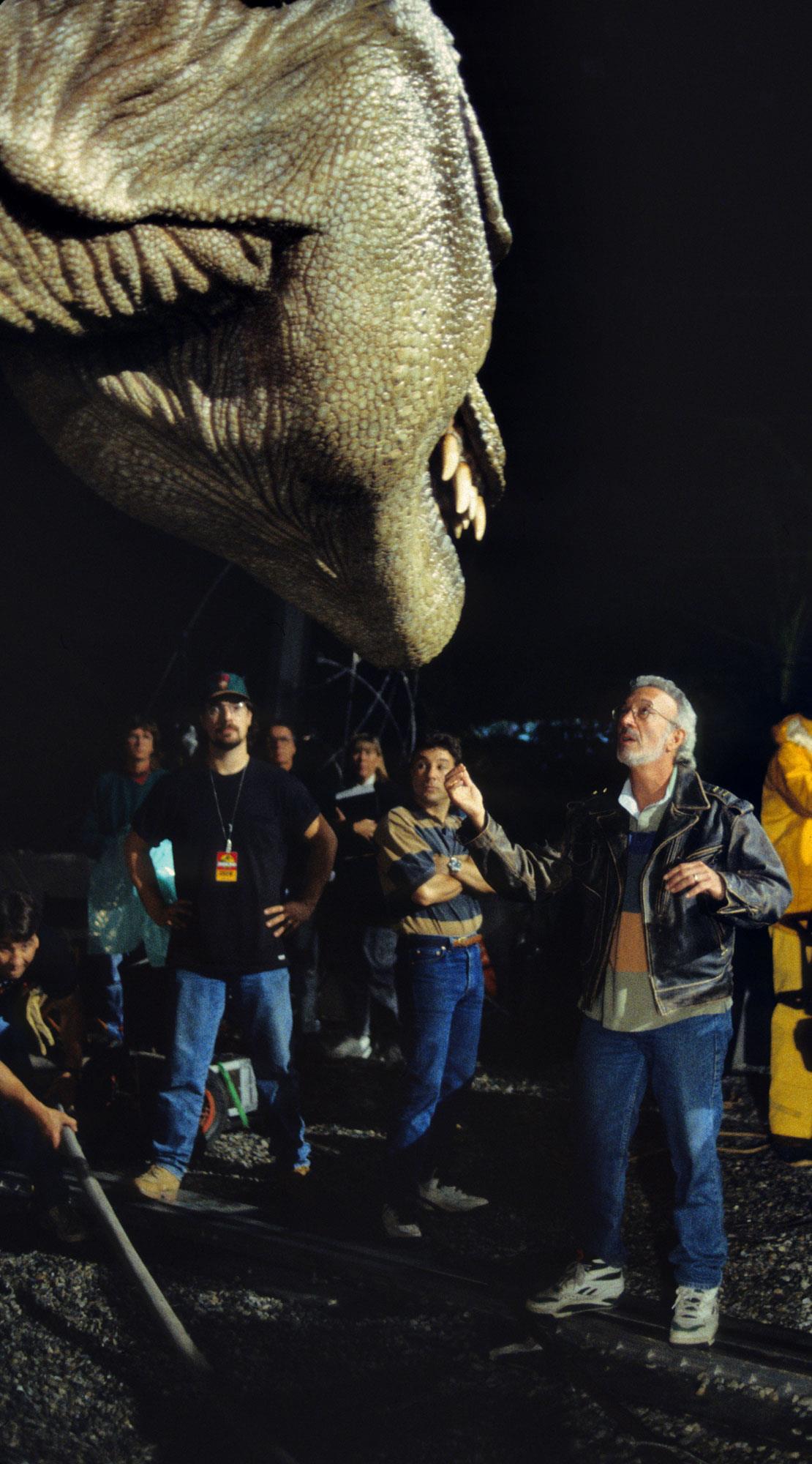 Jurassic Park BTS - Pic 1.