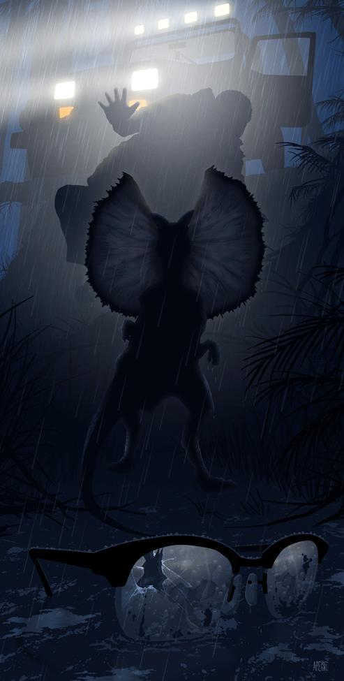 Poster List Jurassic Park : Kevin M. Wilson