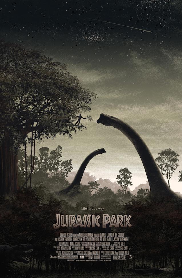 Poster List Jurassic Park : J.C. Richard