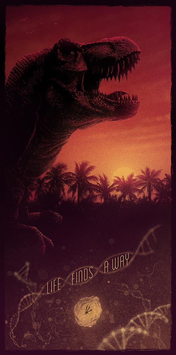 Poster List Jurassic Park : Marko Manev