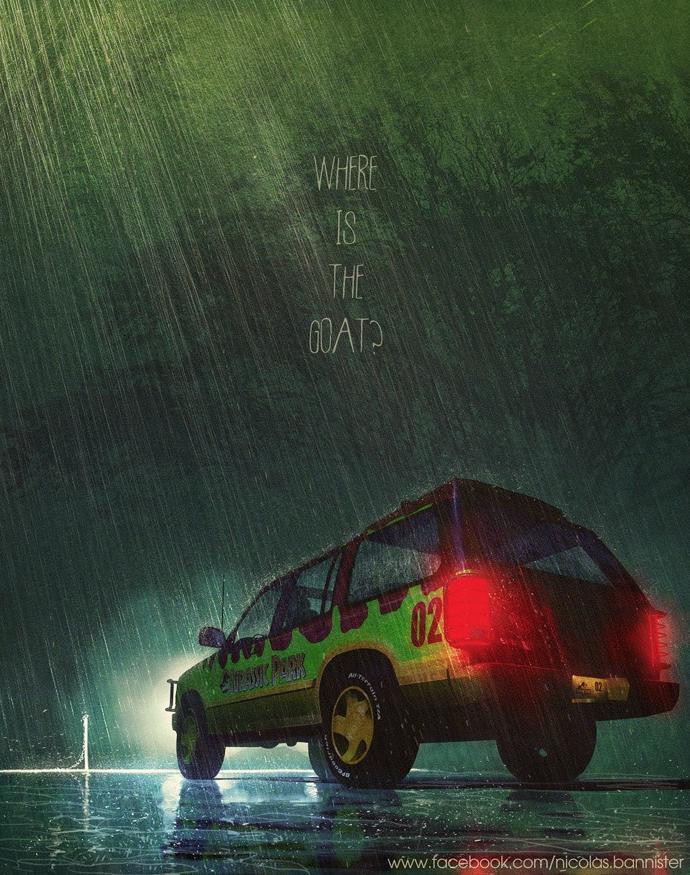 Poster List Jurassic Park : Nicolas Bannister