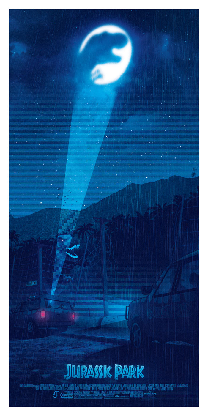 Poster List Jurassic Park : Patrick Connan