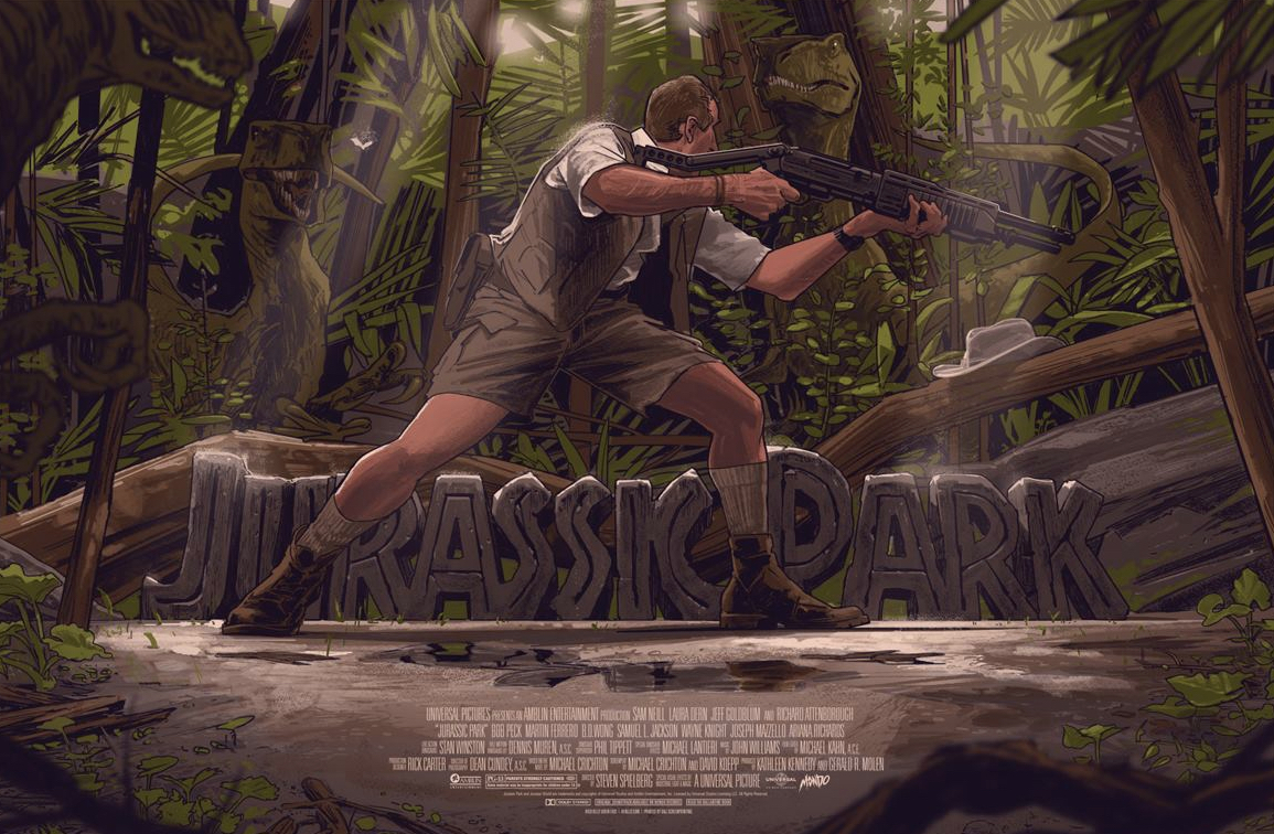 Poster List Jurassic Park : Rich Kelly