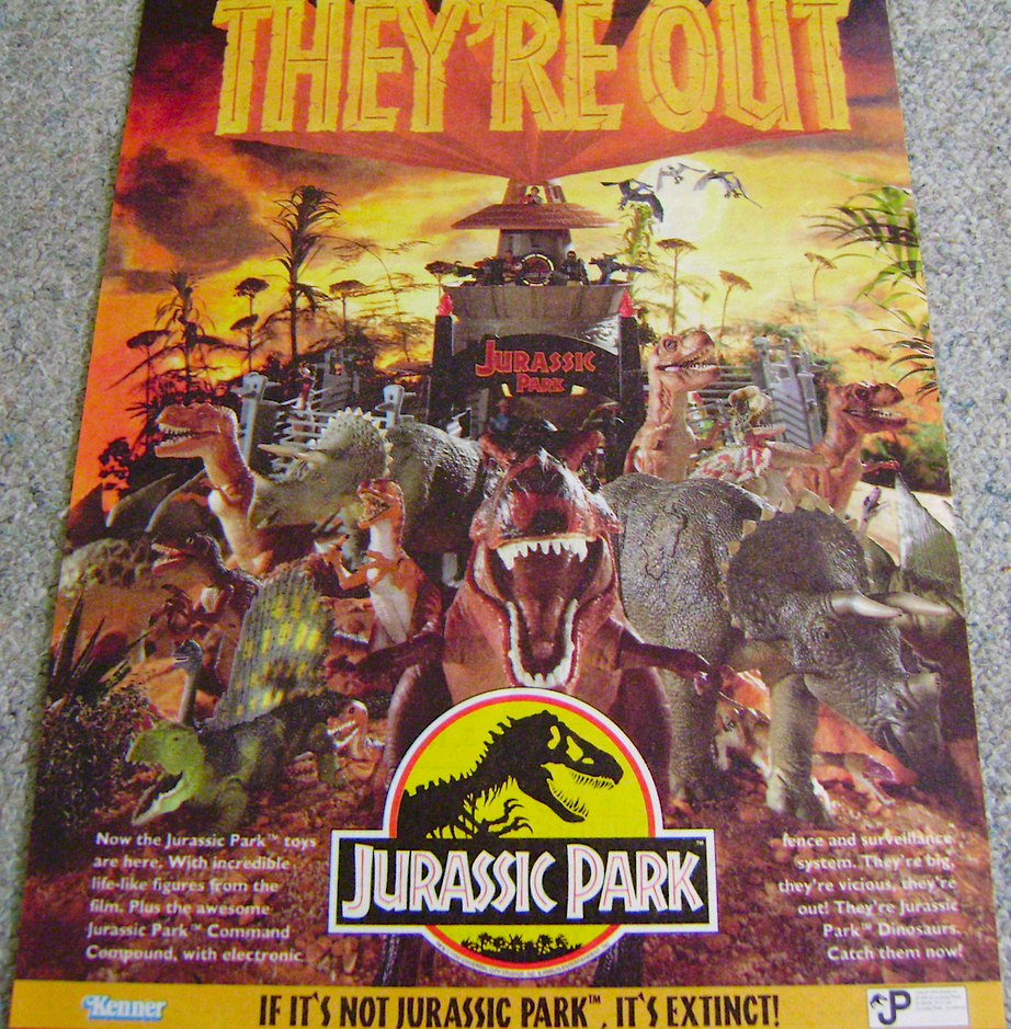 Jurassic Park Toy Advert 1993