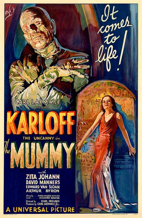 Karloff Mummy Poster
