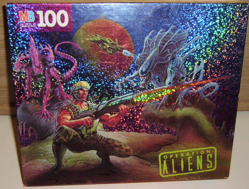 Kenner Operation Aliens Jigsaw