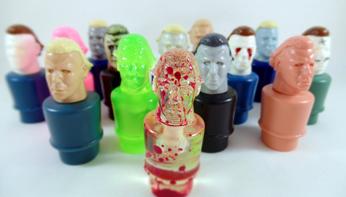 Kill People Resin Figures. Jack's Attic