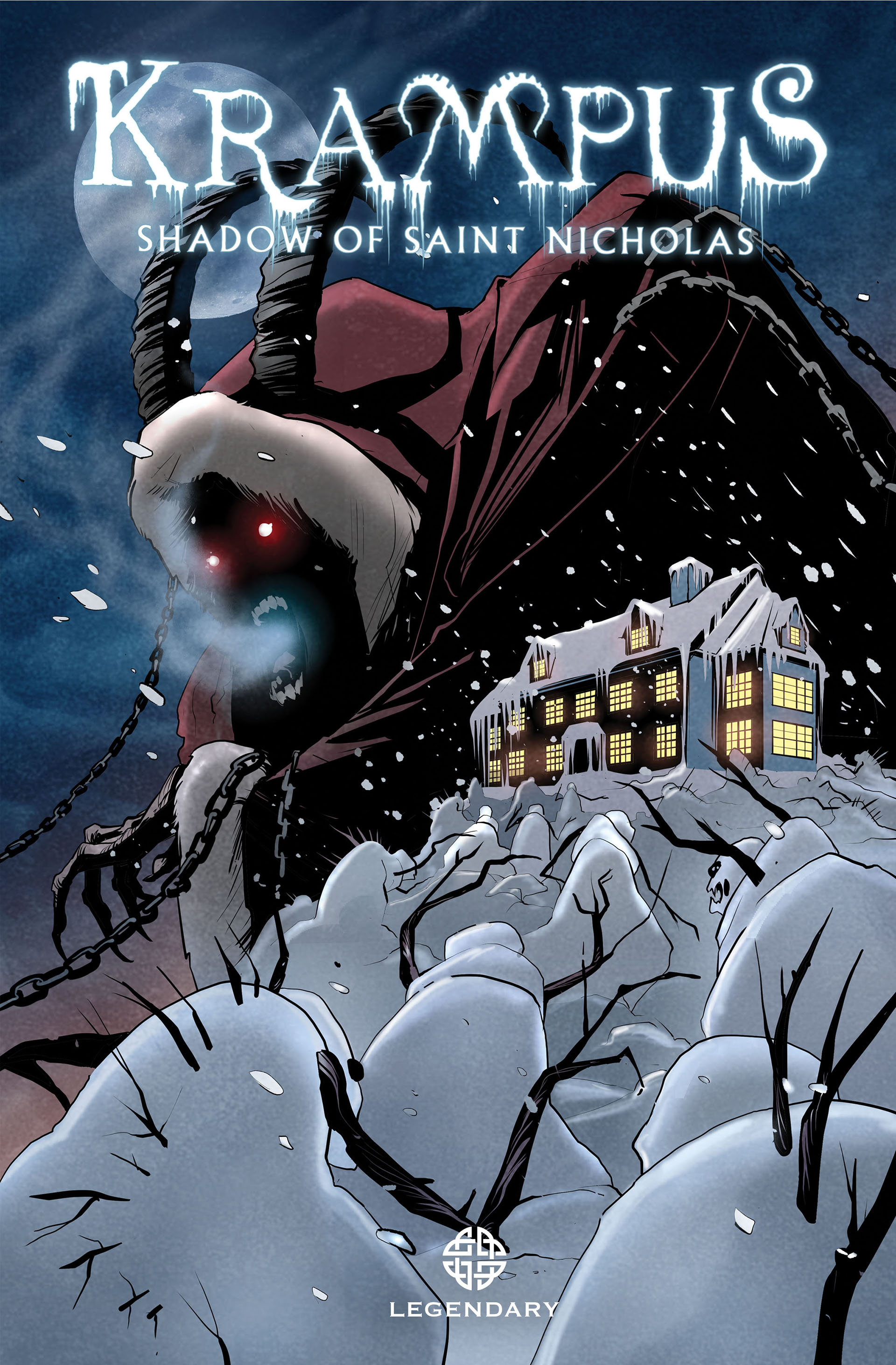 Krampus Shadow of Saint Nicholas