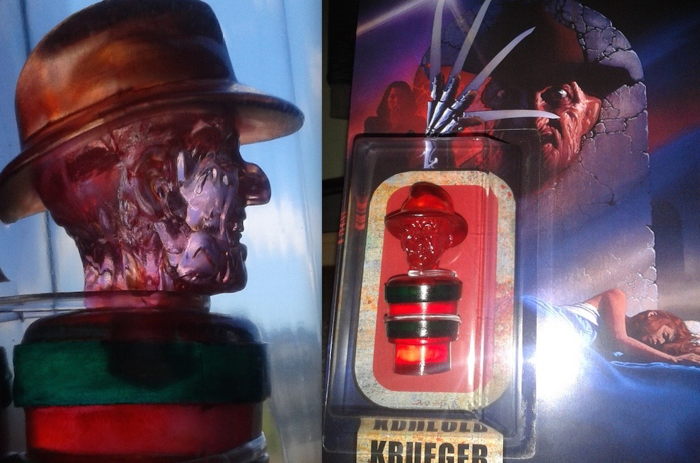Freddy Krueger Exclusive Kill People Carded Figure. Halloween Love