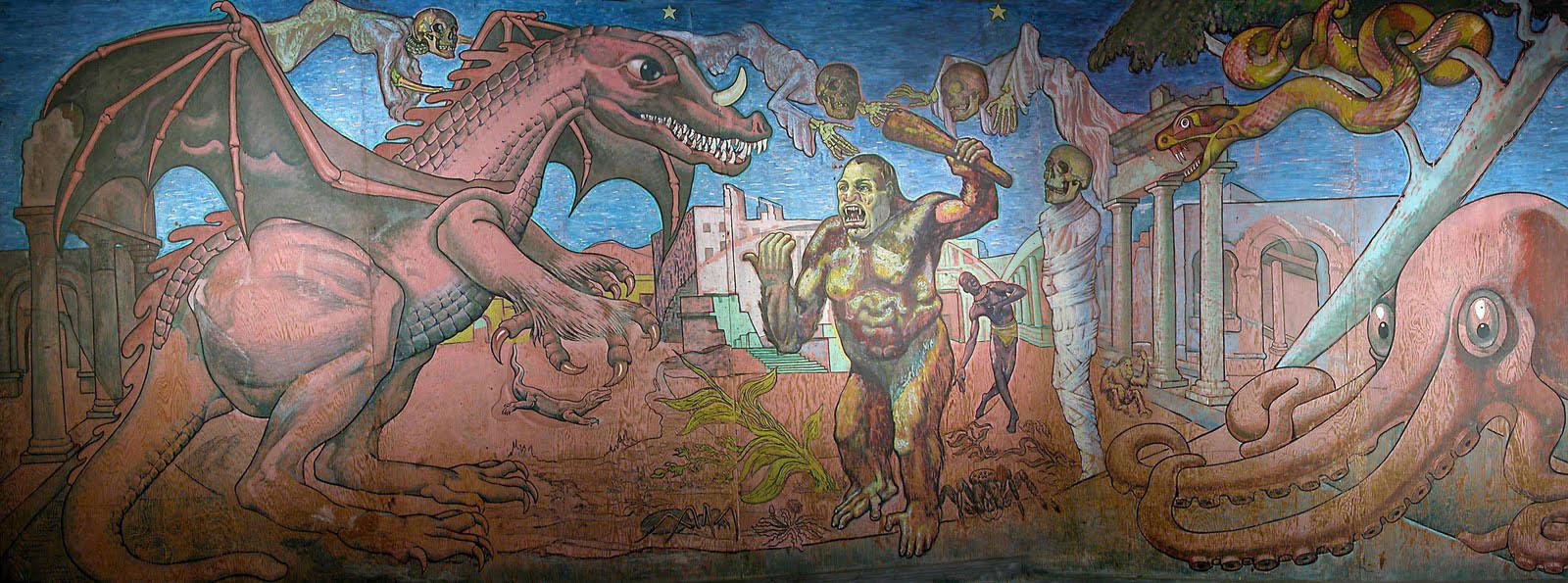 Terroride Mural