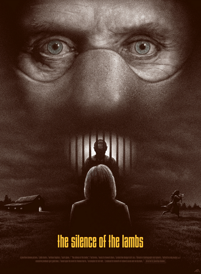Poster Art List : Silence of the Lambs Adam Rabalais