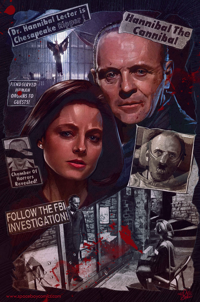Poster Art List : Silence of the Lambs Blake Armstrong