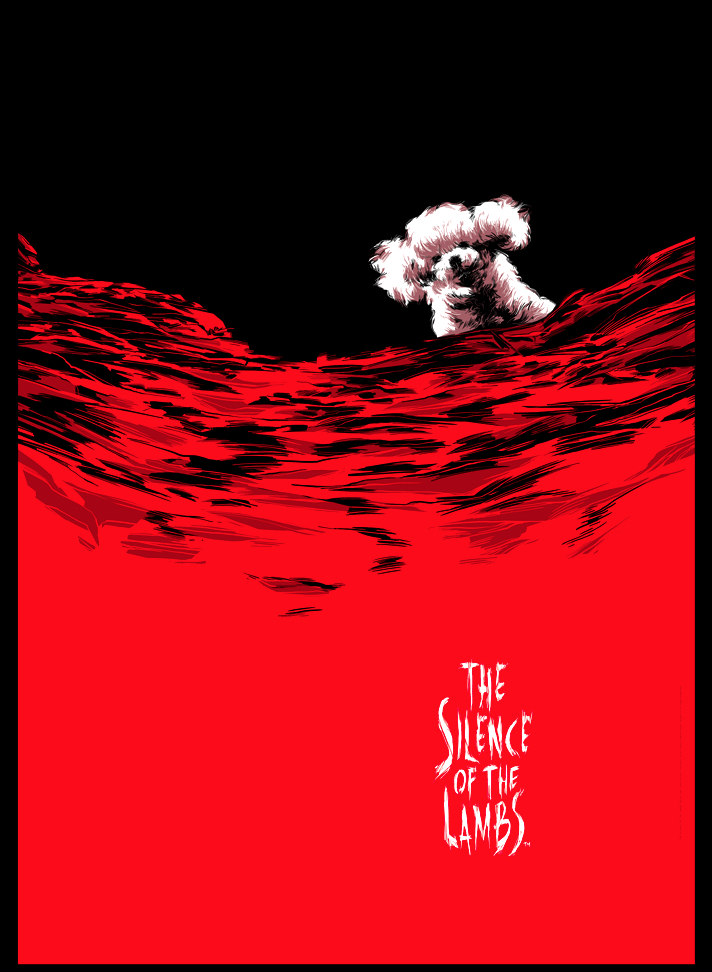 Poster Art List : Silence of the Lambs Cesar Moreno