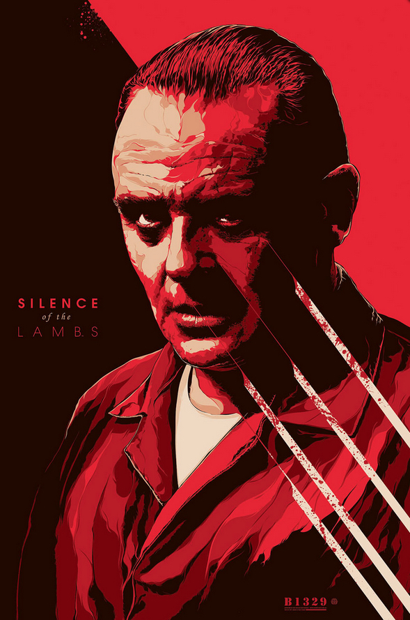 Poster Art List : Silence of the Lambs Ken Taylor