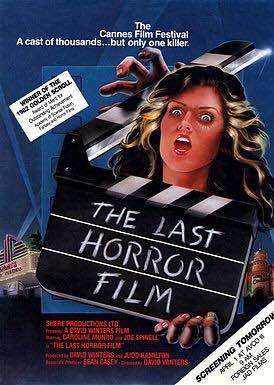 Last Horror Film Poster