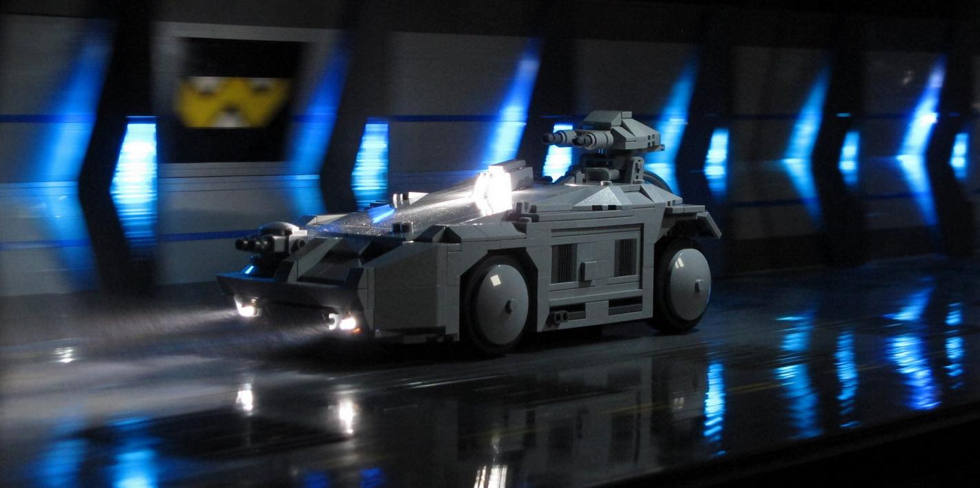 Lego Aliens: APC Rescue