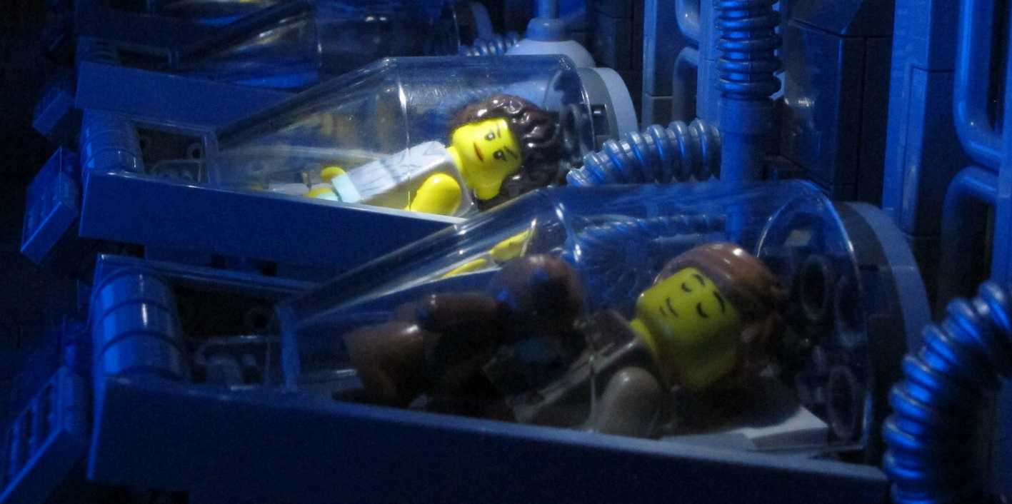 "Lego Aliens - ""Can I Dream?"""