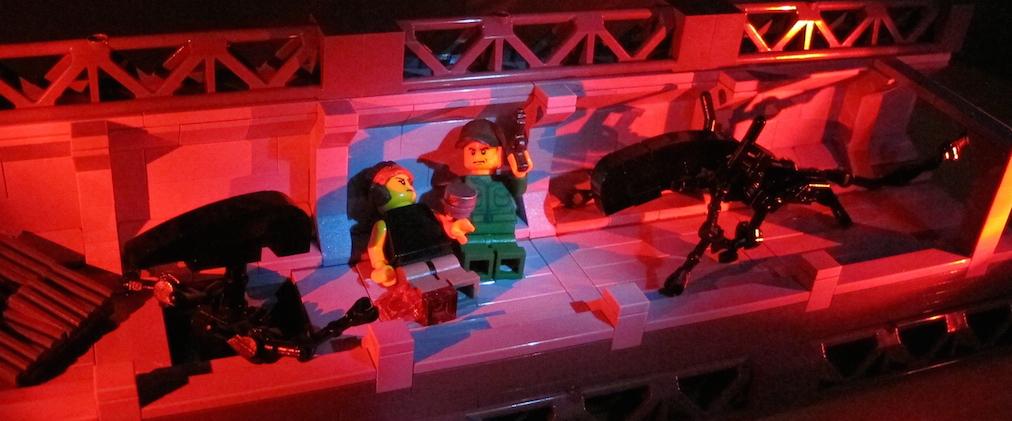 Lego Aliens Gorman