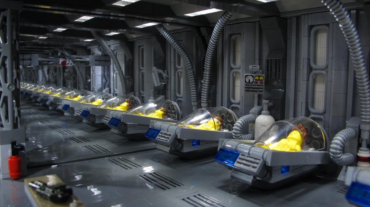 Lego Aliens: Hypersleep