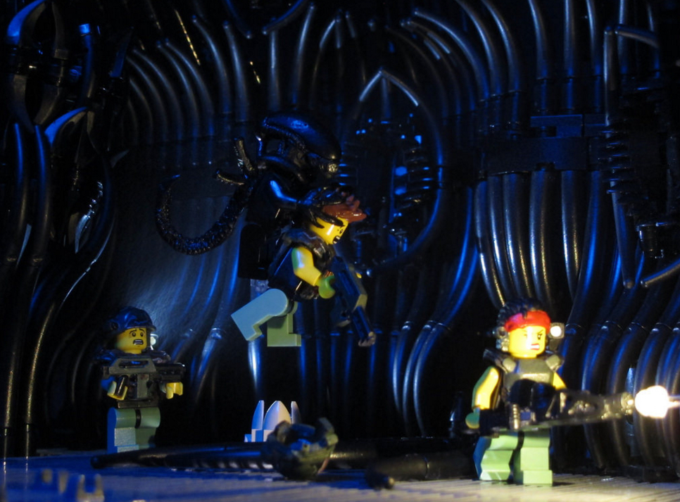 "Lego Aliens - ""Lets Rock!!"""