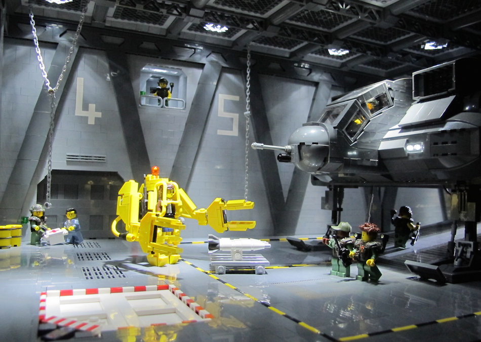 Lego Aliens Sulaco Loading Bay