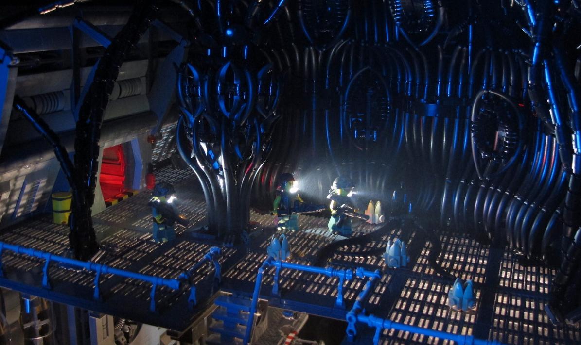 Lego Aliens - The Hive