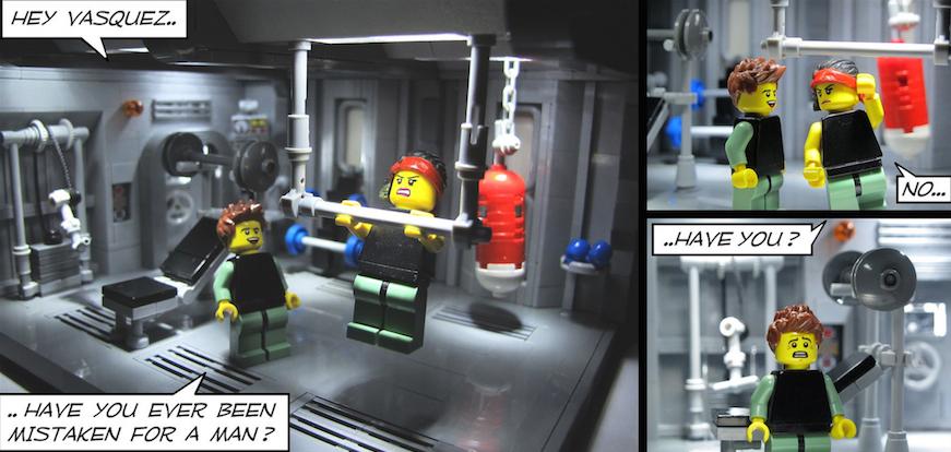 Lego Aliens Vasquez