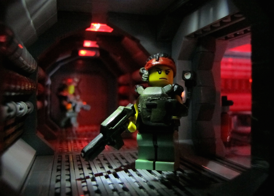 Aliens The Lego Edition : My Q&A With Its Architect 'Missing Brick ...