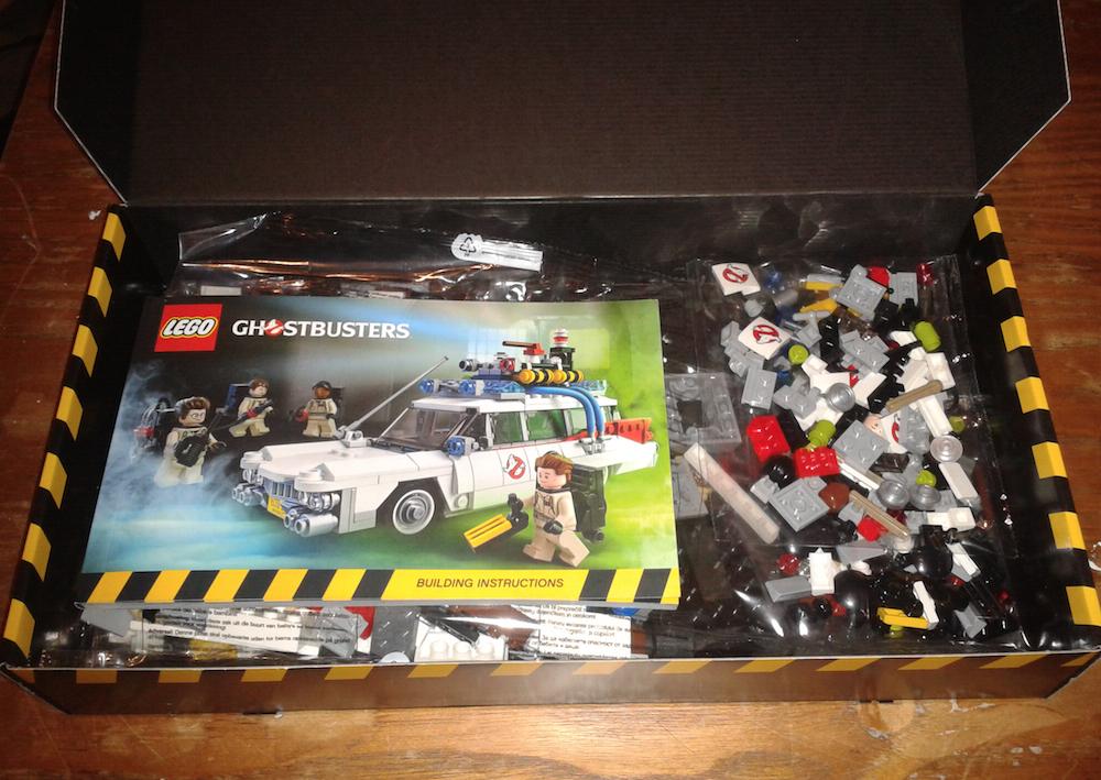 Lego Ecto-1 Box Opening