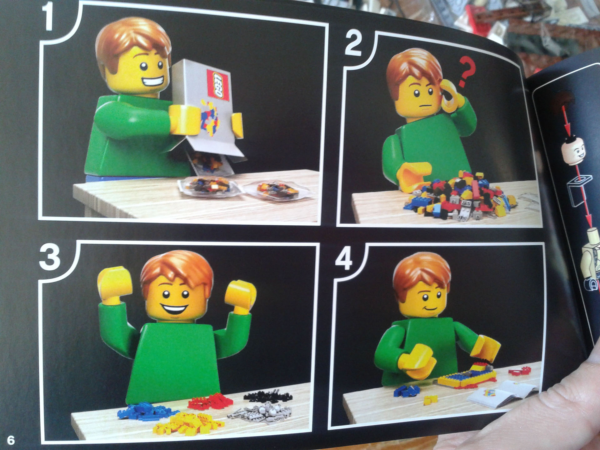 Lego Ecto-1 Instructions Booklet