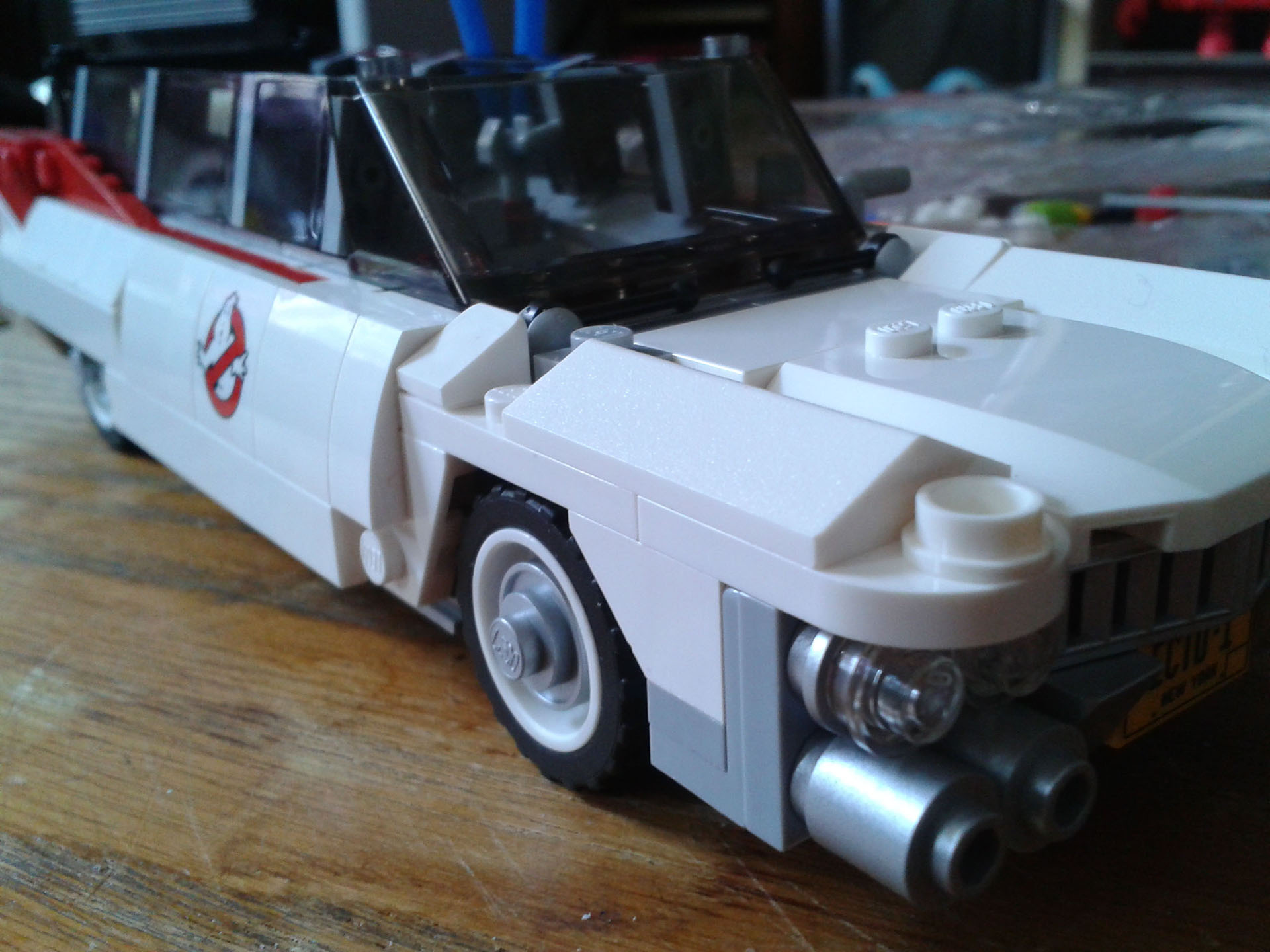 Lego Ecto-1 Car Body Completed