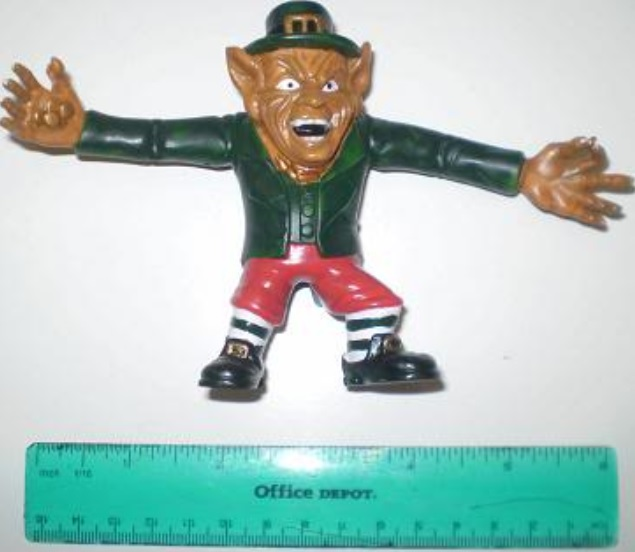 Leprechaun bendy toy