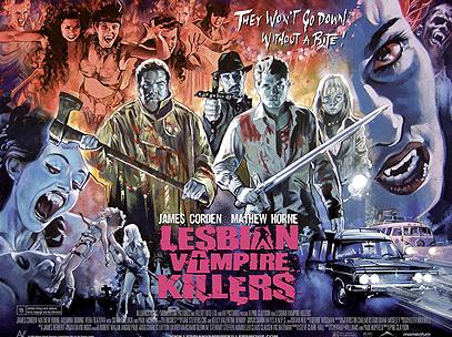 Lesbian Vampire Killers Poster