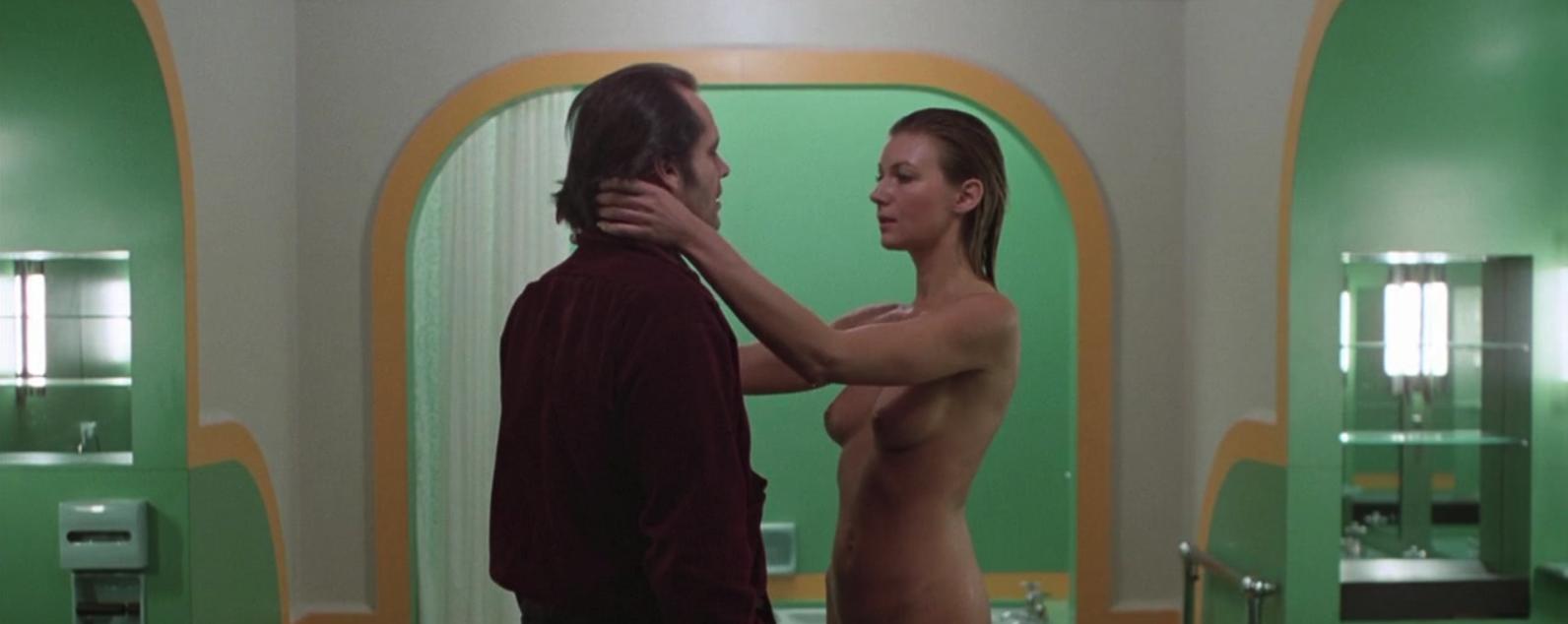 Lia Beldam and Jack Nicholson The Shining Kiss Scene