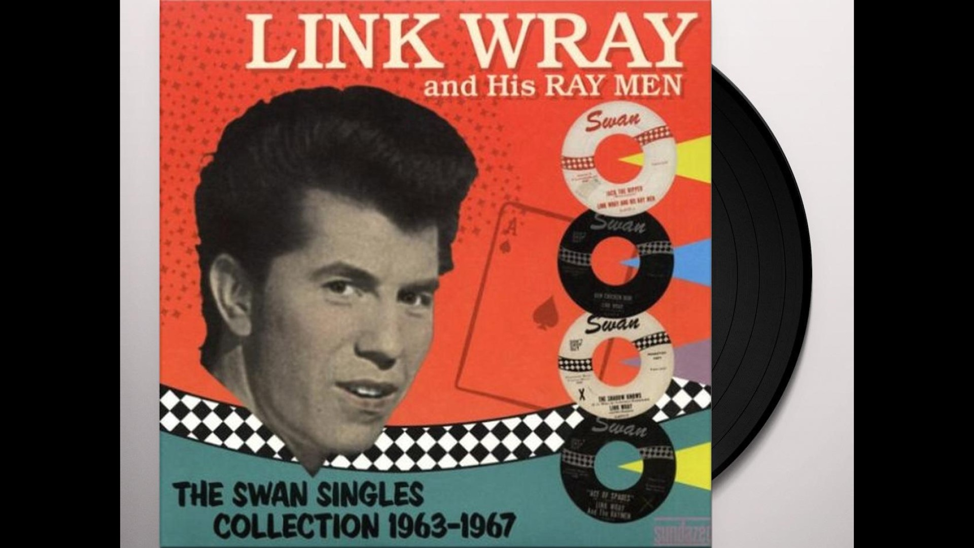 Link Wray Swan Singles