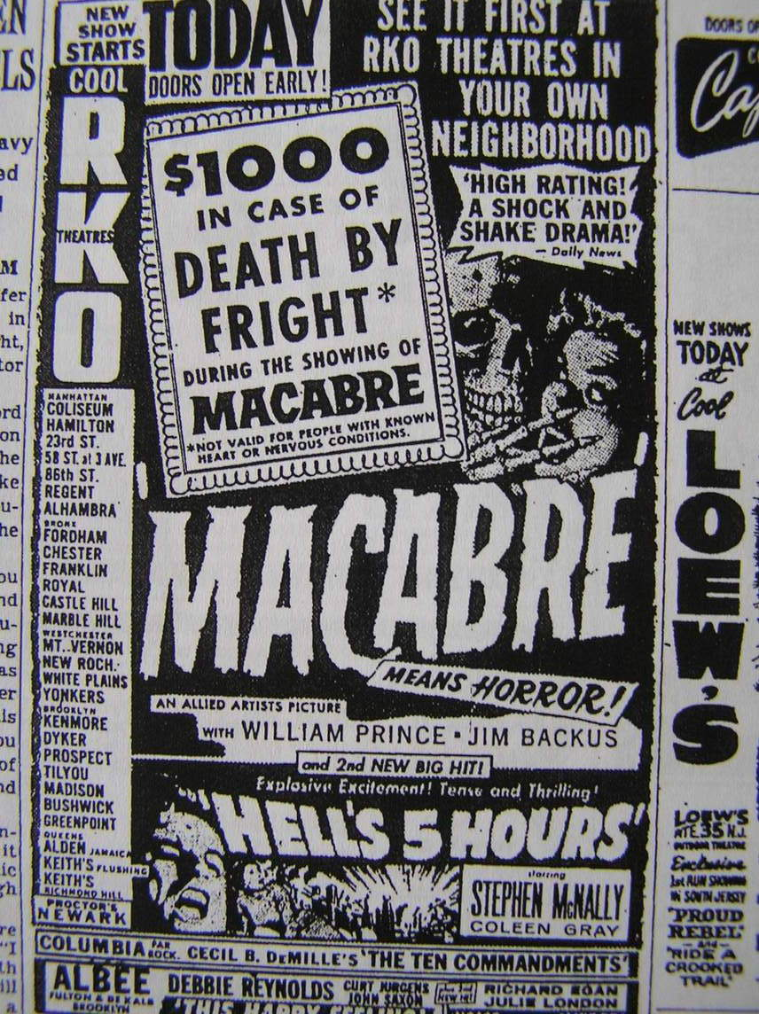 William Castle Macabre