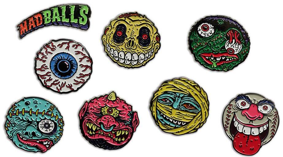 Madballs pins