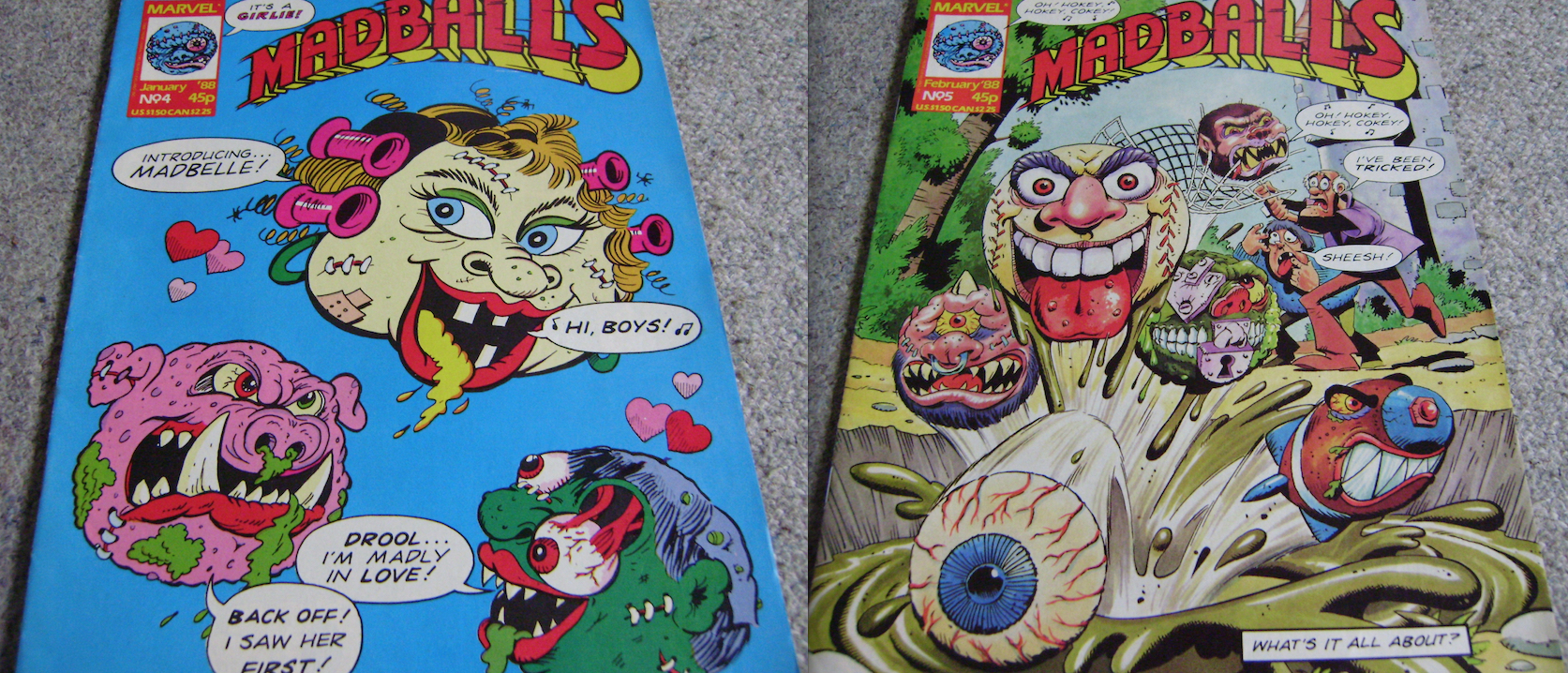 Madballs UK Comics Issues 4 & 5