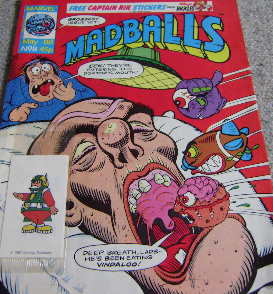Madballs UK Comic Issue 8