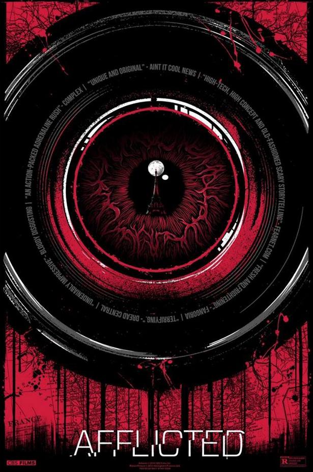 Matt Ryan Tobin Afflicted Poster Art