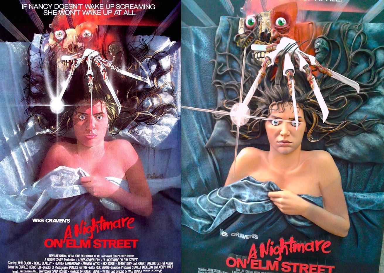 Nightmare on elm street 3 movie poster