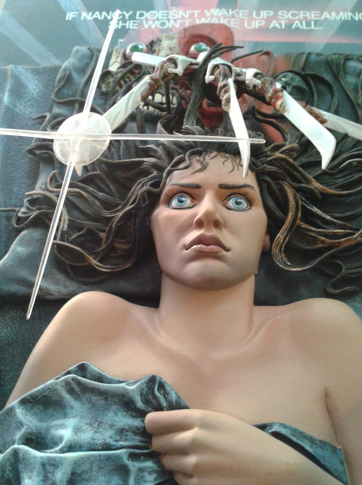 Mcfarlane 3D Sculpted Nightmare On Elm Street Poster Detail