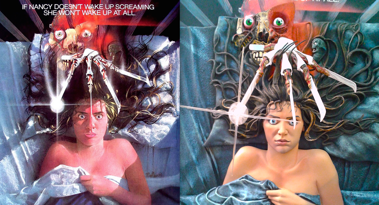 McFarlane Toys 3D Horror Posters Review