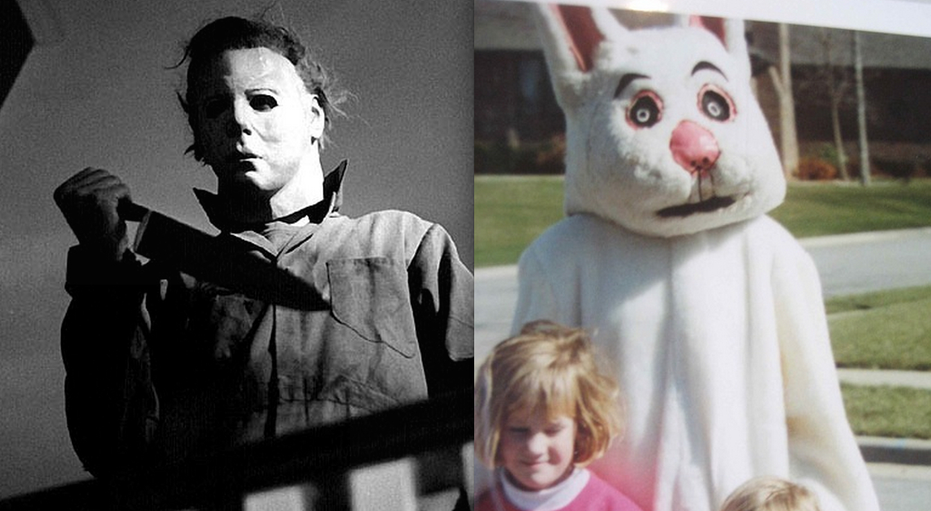 Michael Myers Creepy Easter Bunny
