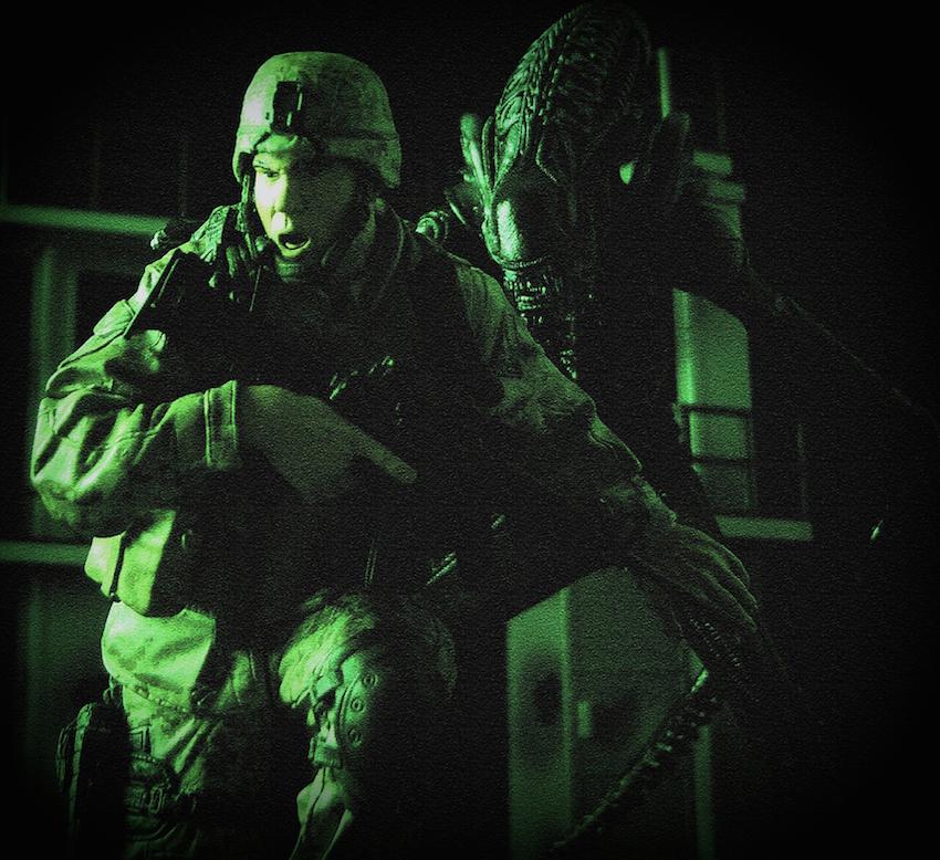 Military V Alien