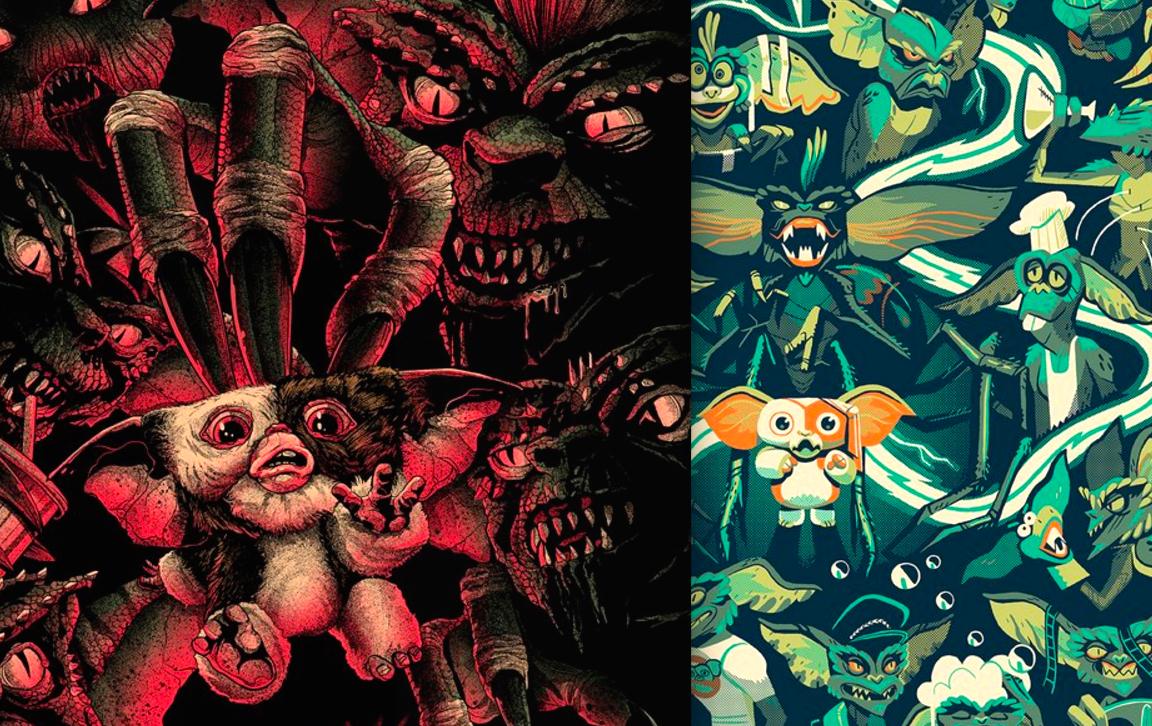 Mondo Gremlins And Gremlins 2 Alternative Poster Art 2016
