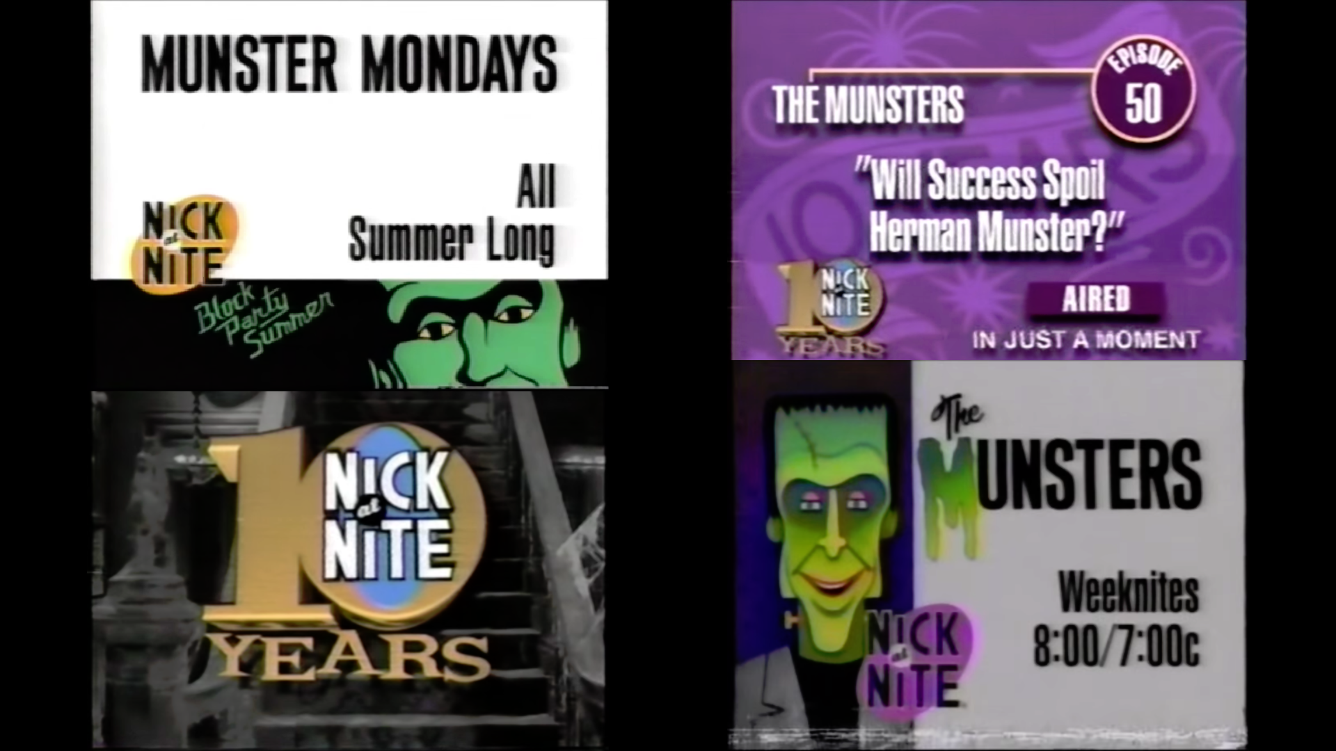 Munsters Nick Bumpers